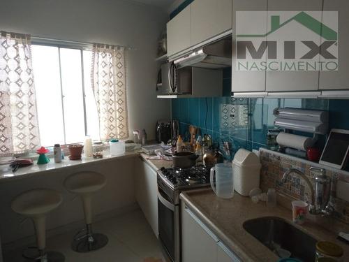 Apartamento Padrão Mobiliado Em Vila Florida - São Bernardo Do Campo, Sp - 3524
