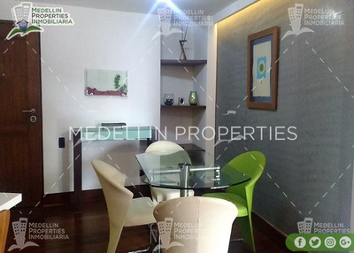 Arrendamientos De Apartamentos En El Poblado Cod: 4984