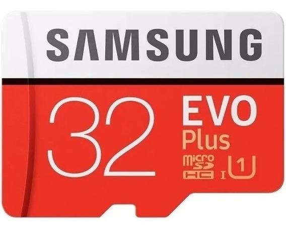 Cartão Micro Sd 32 Gb Samsung Classe 10 480mb/s Uhs-i