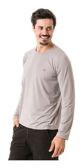 Camiseta Com Repelente De Insetos E Proteção Uv Manga Longa