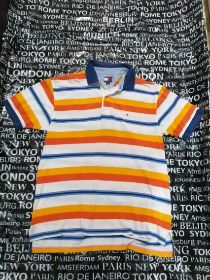 Playera Tommy Hilfiger N-polo Calvin Klein Lacoste Boss