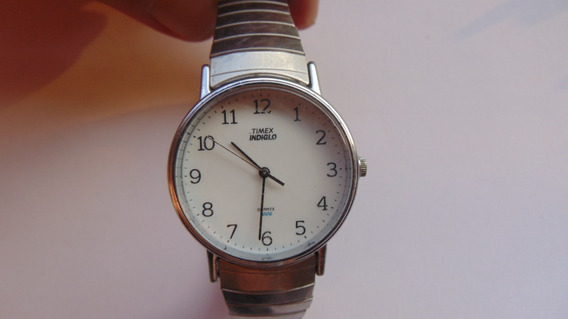 Relogio Antigo Timex Indiglo Anos80 Quartz Funcionando Raro