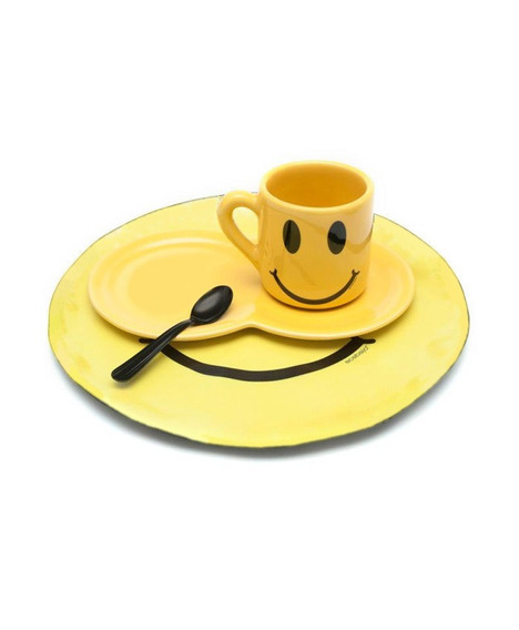 Acabajo Deco Set Desayuno Taza Smile