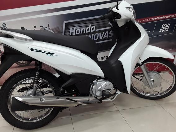 Honda Biz 110i Cbs Linda, Leve, Ecônomica Fácil De Pilotar