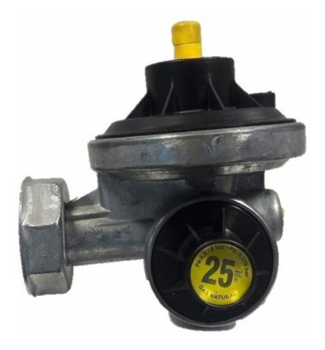 Imagen 1 de 7 de Regulador Gas Natural 25 Mts  Msb 1502-b25-gn