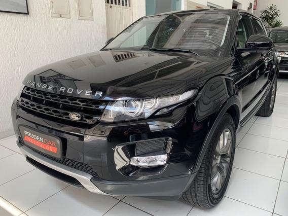 Land Rover Range Rover Evoque Pure Tech 2014 Preta