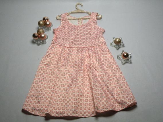 Vestido De Menina Estampado Infantil