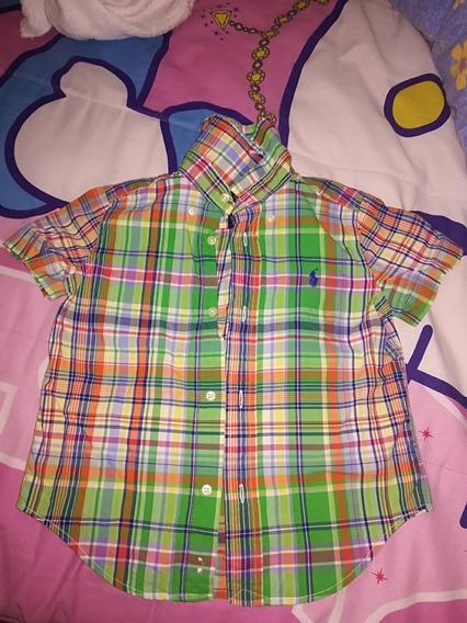 Vendo Camisa Para Niño De 3 A 4 Años Marca Polo