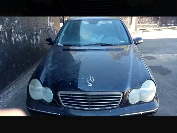 Capô Dianteiro Mercedes Benz C240 V6 2002 2003 Original
