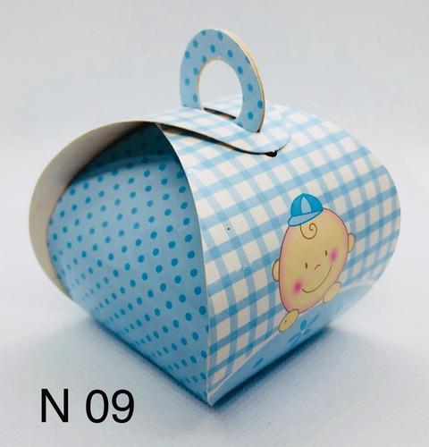 Imagem 1 de 11 de 60 Caixinhas Para Bem Casado Lembrancinha Bebê Baby Menino