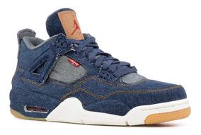 Jordan Retro 4 Levis Blue,edición Especial Nuevos 7.5, 8