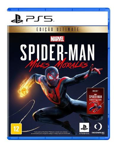 Imagem 1 de 4 de Jogo Marvel's Spider-man: Miles Morales Edição Ultimate Ps5