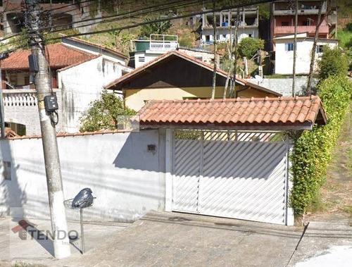 Imagem 1 de 19 de Imob03 - Casa 2 Dormitórios -  534m² - Ribeirão Pires/sp - Ca0273