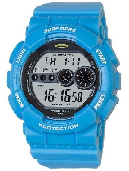 Relógio Masculino Surf More 4010491m Digital Azul