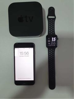 iPhone 8 64 Gb+apple Watch Series 2+apple Tv - Kit Usado