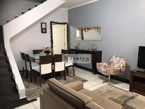Imagem 1 de 20 de Sobrado Com 3 Dormitórios À Venda, 180 M² Por R$ 551.500,00 - Jardim Olavo Bilac - São Bernardo Do Campo/sp - So1114