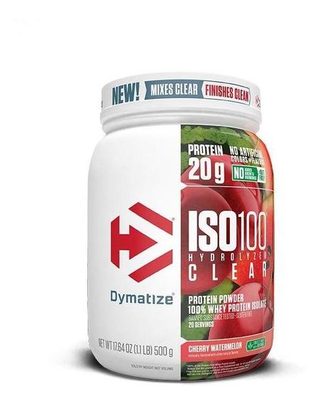 Iso 100 - 100% Hydrolyzed Clear (1.1lb/500g) Dymatize