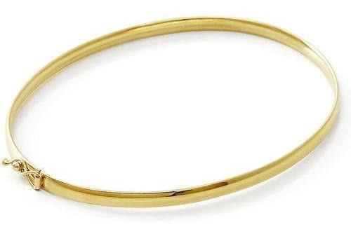 Bracelete Feminino Em Ouro 18kl 7 Gramas