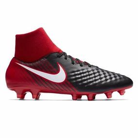 35d50d624d8b4 Chuteira Botinha Vermelha - Chuteiras Nike de Campo para Adultos com ...