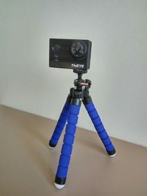 Mini Tripé Flexível Octopus Suporte Celular Go Pro Camera
