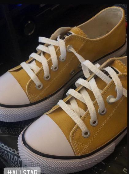 Zapatillas De Lona Urbanas
