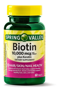 Biotina 10000 Mcg Con Keratina Bio - Unidad a $1000