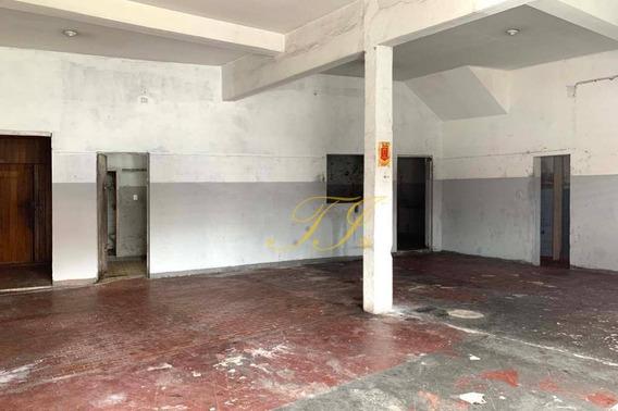 Salão Para Alugar, 102 M² Por R$ 4.000,00/mês - Vila Fátima - Guarulhos/sp - Sl0038