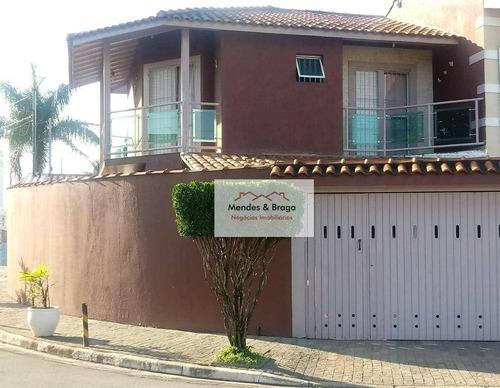 Imagem 1 de 22 de Sobrado À Venda, 218 M² Por R$ 750.000,00 - Picanco - Guarulhos/sp - So0217
