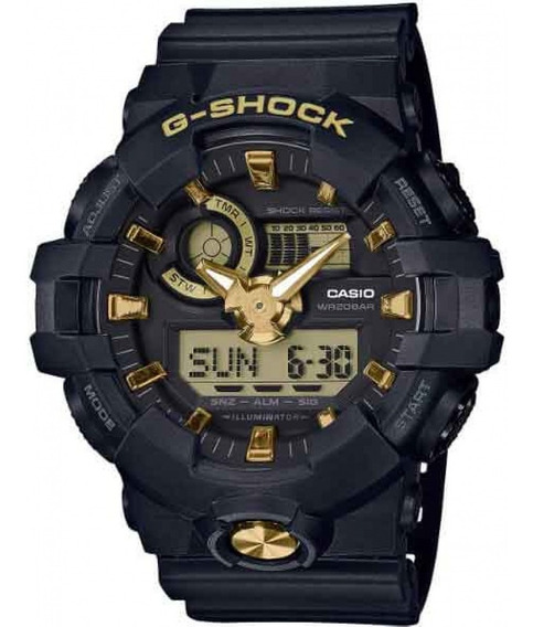 Relógio Casio G-shock Ga-710b-1a9dr + Garantia + Nfe Ga710