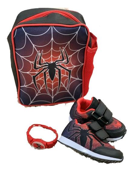 Tenis Com Bolsa Homem Aranha