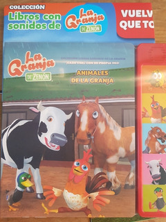 Coleccion Sonidos La Granja De Zenon - Clarin - N1 -animales