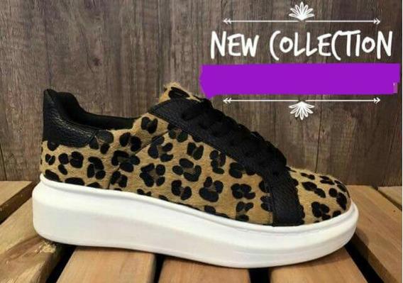 Zapatilla Sneaker. Animal Print