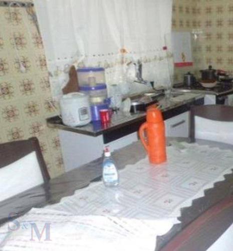 Imagem 1 de 9 de Casa Com 2 Dormitórios À Venda, 131 M² Por R$ 375.000,00 - Parque Capuava - Santo André/sp - Ca0849
