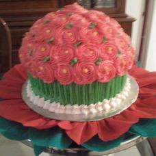 Tortas Decoradas Y Maxi Cupcakes En Merengue Clasico