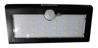 Reflector Farol Solar Exterior 18 Leds Sensor Movimiento Lum