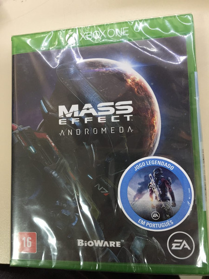 Mass Effect Andromeda Xbox One Mídia Física