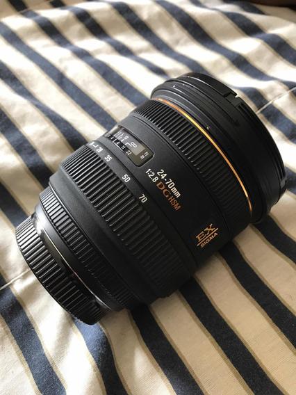 Lente Sigma Para Sony 24-70 Mm Quase Nova!