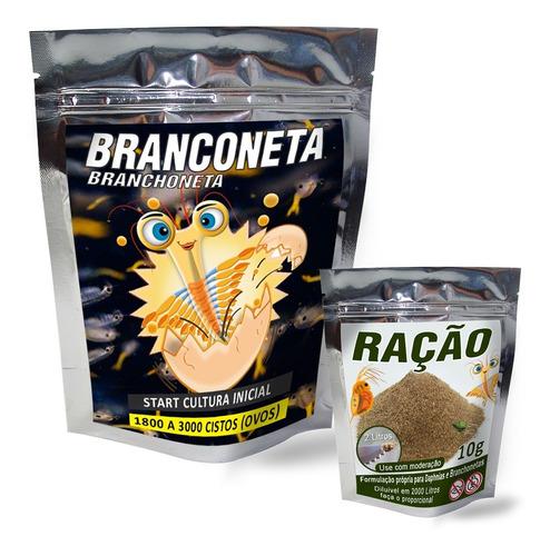 Start Artêmia Branchoneta + Ração