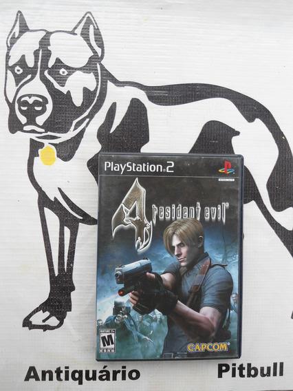 Resident Evil 4 Black Label Original Playstation 2