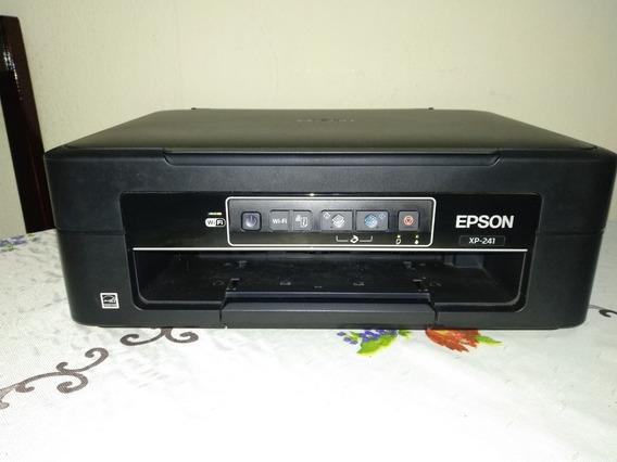 Impressora Multifuncional Epson Xp-241 - Jato De Tinta Wi-fi