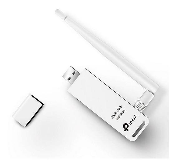 Receptor Wifi Usb Inalámbrico Tp-link Tl-wn722n Tucuman