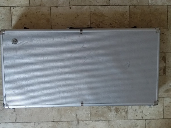 Case Pedais Solid Sound Extra Grande 90x45x13cm Aluminio