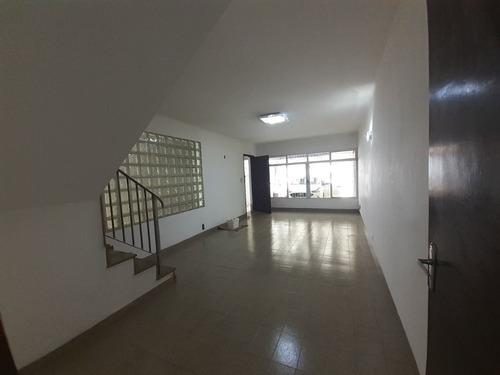 Imagem 1 de 20 de Sobrado Com 3 Dormitórios Para Alugar, 218 M² Por R$ 3.000,00/mês - Jardim - Santo André/sp - So0092