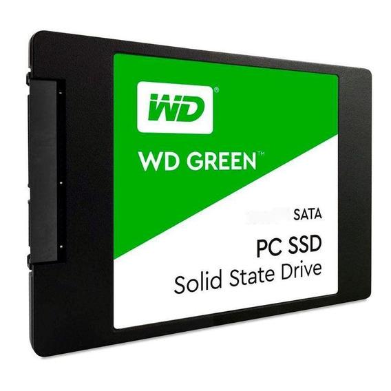Ssd - 2,5pol / Sata3 - 1tb Western Digital Green Wds100t2g0a