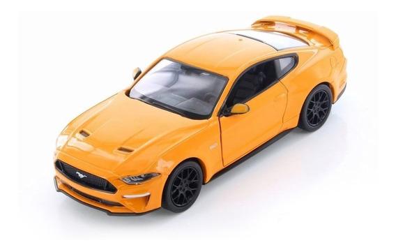 2018 Ford Mustang Gt Laranja - Escala 1:24 - Motormax