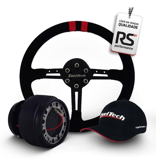 Volante Ftr Fueltech Fts1 Com Cubo Shutt Hub Sports Gm1