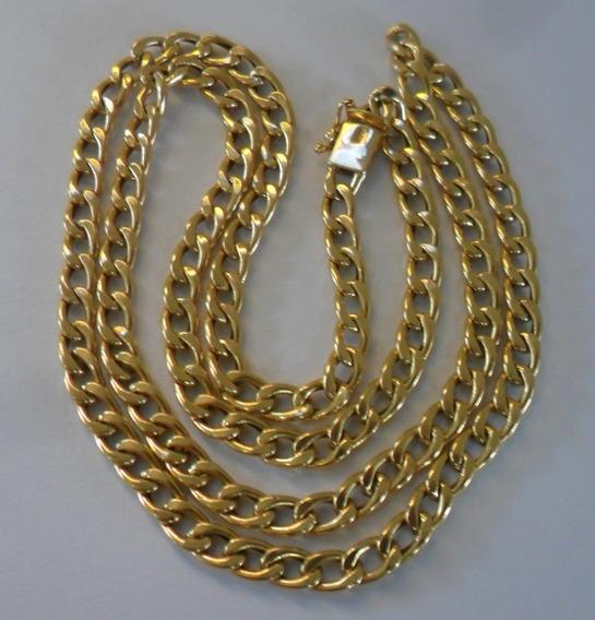 Corrente Grumet Em Ouro 18k 60cm E 17.4g - P E R F E I T A !