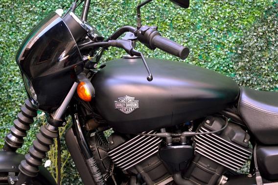 Street 750cc Harley Davidson Lista Para Viajar
