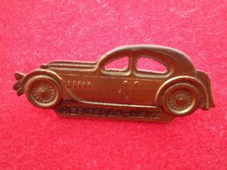 Broche Carro Antigo Da Mercedes Benz