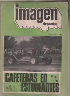 Antigua Revista Automovilistica * Imagen ** Año 1974 Unica